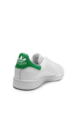 48cedc006ba ... Tênis Couro adidas Originals Stan Smith Branco Verde. Passe o mouse  para ver o Zoom