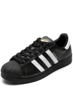 b407f471d58 ... Tênis adidas Originals Superstar Foundation Preto. Passe o mouse para  ver o Zoom