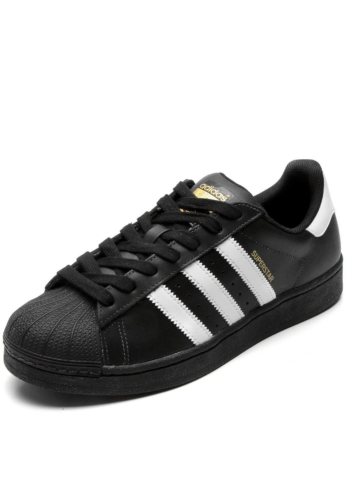 15f10fb3fca Tênis adidas Originals Superstar Foundation Preto - Compre Agora ...