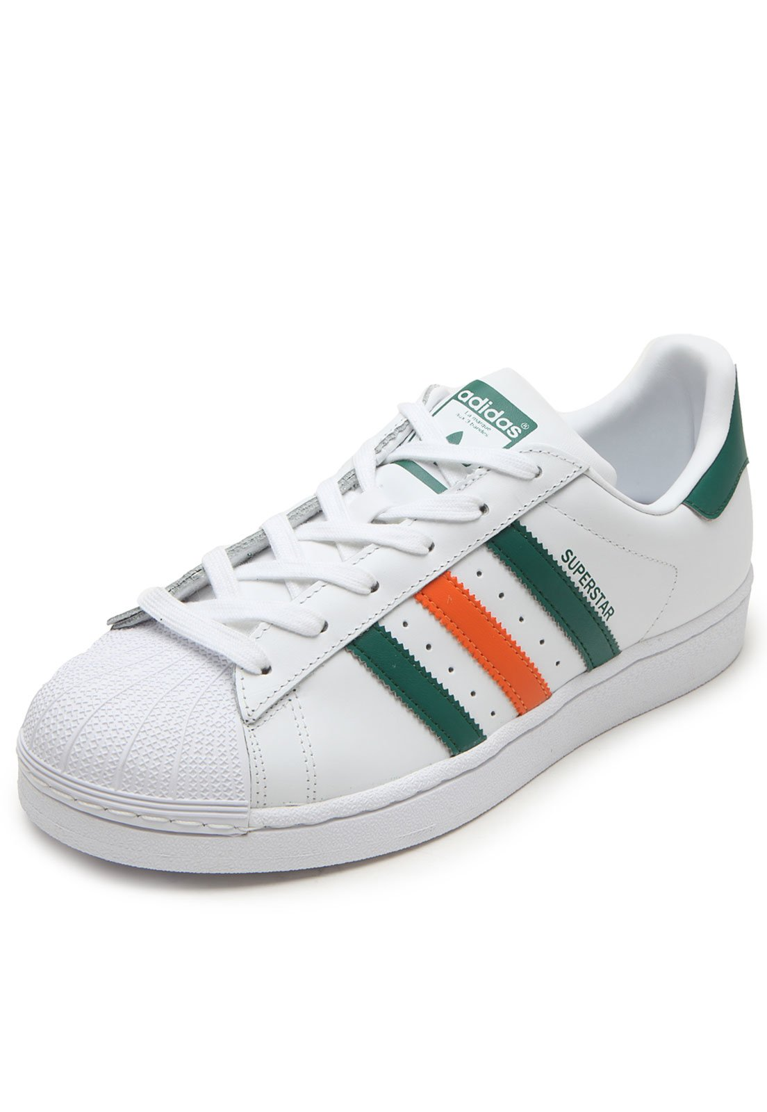 separation shoes 0fcdb 5d28f Tênis adidas Originals Superstar Foundation Branco - Compre Agora   Kanui  Brasil