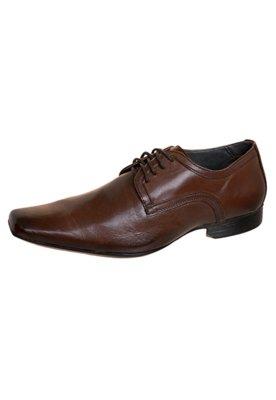 Sapato Social Lucca Salvatore Style Marrom