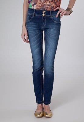 Calça Jeans Lança Perfume Skinny Moment Azul