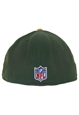 Boné New Era 59Thirty Evergreen Green Bat Packers Team Verd...