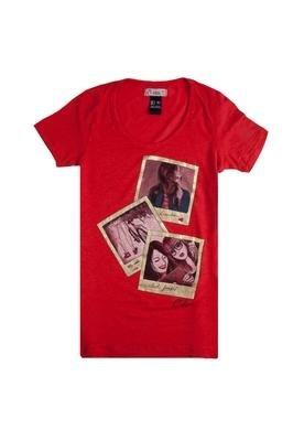 Blusa Longer Girls Vermelha - Colcci T