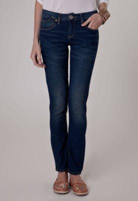 Calça Jeans Khelf Skinny Stone Azul