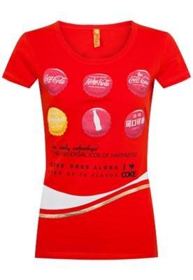 Blusa Coca Cola Small Variação Vermelha - Coca Cola Clothi...
