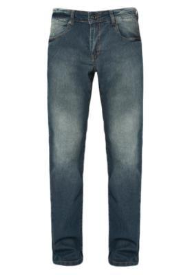 Calça Jeans Hurley Relaxed Reta Azul