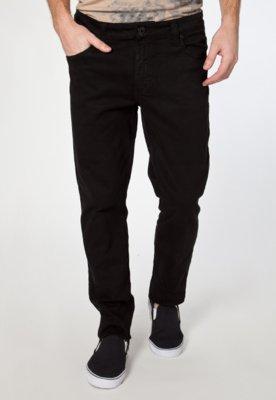 Calça Jeans Cavalera Elastic Boy Color Preta