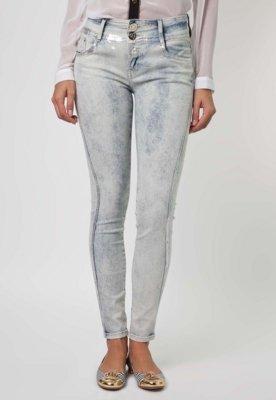 Calça Jeans Lança Perfume Skinny Silver Azul