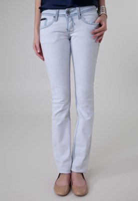 Calça Jeans Calvin Klein Jeans Reta Stock Azul