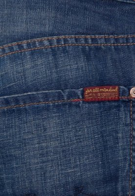 Calça Jeans 7 For All Mankind The Straight Azul