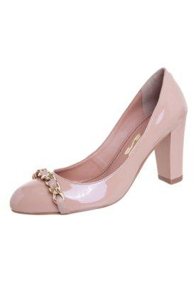 Sapato Scarpin Santa Lolla Verniz Bege
