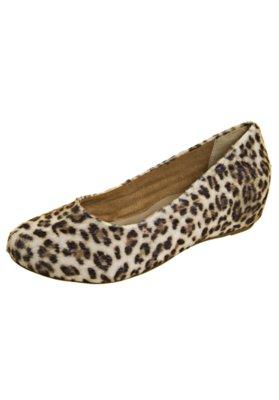 Sapato Scarpin Pelo Onça - FiveBlu