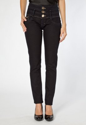 Calça Jeans Lança Perfume Basic Preta