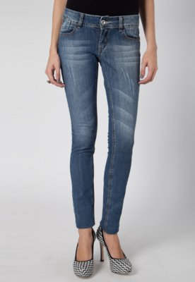 Calça Jeans Pink Connection Skinny Style Azul