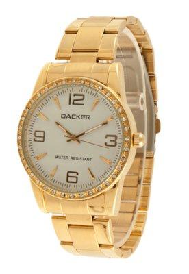 Relógio Backer W 3044145F  Dourado
