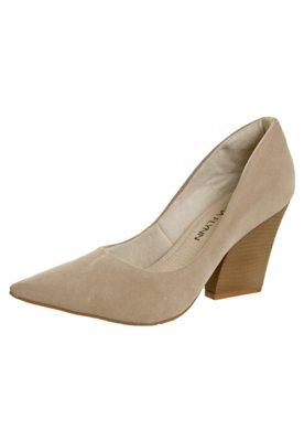 Sapato Scarpin Anna Flynn Diva Bege