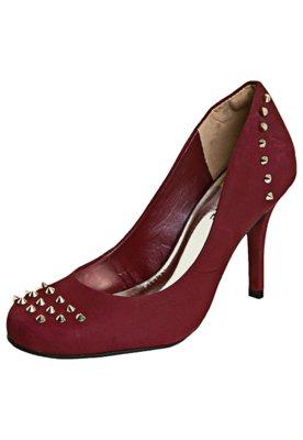 Sapato Scarpin Via Marte SPike Vinho