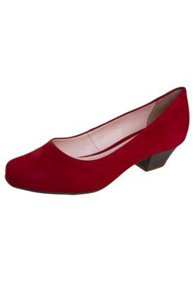 Sapato Scarpin Bottero Salto Baixo Básico Vermelho