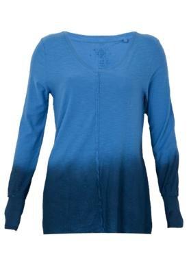 Blusa Cantão Glitter Azul