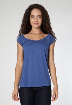 Blusa Calvin Klein Jeans Clean Azul