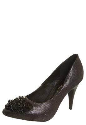 Sapato Scarpin FiveBlu Miçangas Preto
