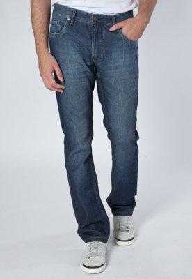 Calça Jeans Redley Reta Original Azul