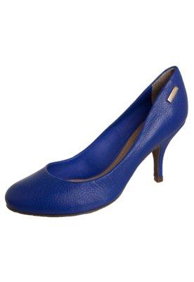 Sapato Scarpin Dumond Clean Azul