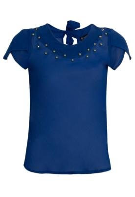 Blusa Anna Flynn SPikes Azul