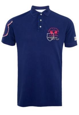 Camisa Polo Mínima Azul - La Martina