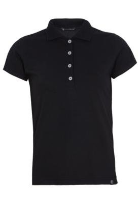 Camisa Polo Anna Flynn Color Pratic Preta