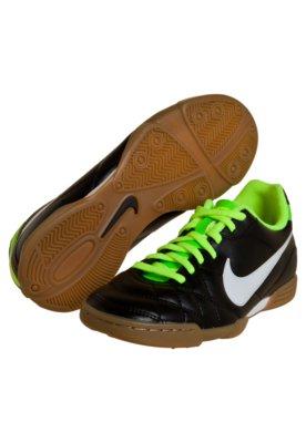Chuteira Futsal Nike Tiempo Rio Preta/Branca