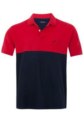 Camisa Polo Nautica Versa Vermelha