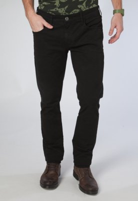Calça Jeans Straght Gils Classic Preta - Triton