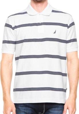 Camisa Polo Nautica Original Branca