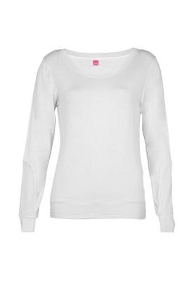 Blusa Recortes Branca - Pink Connection