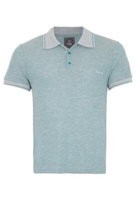 Camisa Polo Forum Muscle Fake Verde