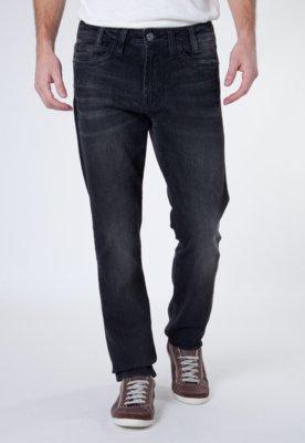 Calça Jeans Reta Darkside Preta - Carmim