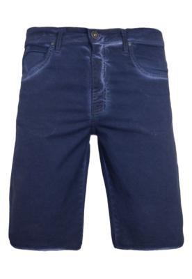 Bermuda Calvin Klein Jeans Color 5 PKTS Stretch Azul