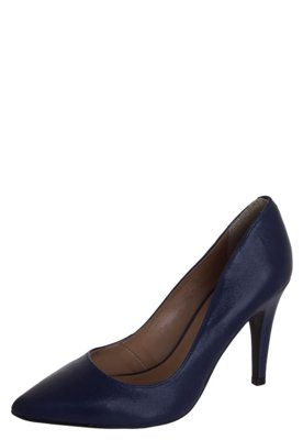 Sapato Scarpin R. Basic Classic Azul - Raphaella Booz