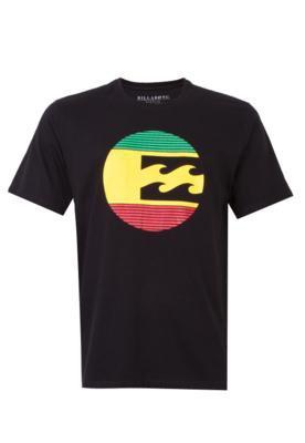 Camiseta Billabong Mar Preta