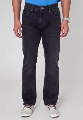Calça Jeans Lee Reta Estonada Modern Preta