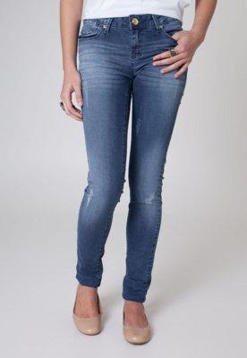 Calça Jeans Iódice Skinny Fray Azul - Iódice Denim