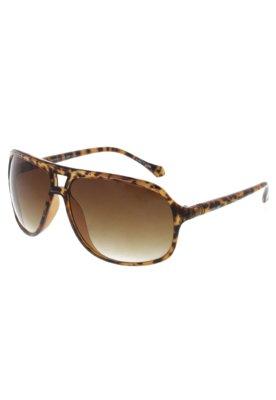 Óculos Solar Lotus Square Marrom