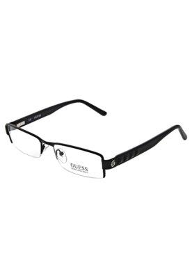 Óculos Receituário Guess 702169952BLK 52 BLK Preto