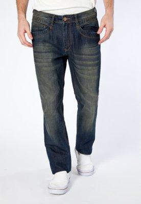 Calça Jeans Carmim Norton Reta Azul