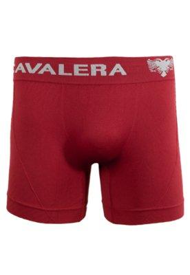 Cueca Boxer Microfibra Sem Costura Vermelha - Cavalera
