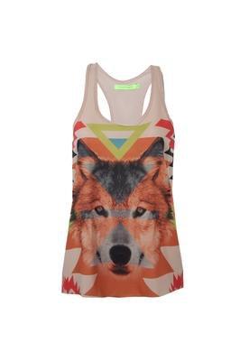 Blusa Fox Bege - Espaço Fashion