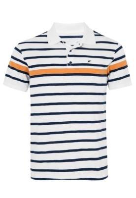 Camisa Polo Ellus Navy Branca
