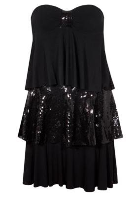 Vestido Ludi Preto - Pink Connection